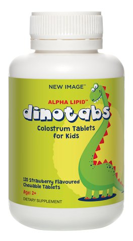 Alpha Lipid™ Dinotabs | New Image™ International | Colostrum Range