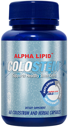New Image International Product: Alpha Lipid™ Colostem™ (colostrum)