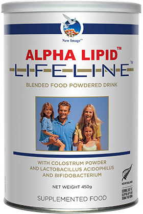New Image International Product: Alpha Lipid™ Lifeline™ (colostrum)