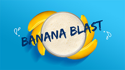 Banana Blast Smoothie Video Thumnail - New Image International
