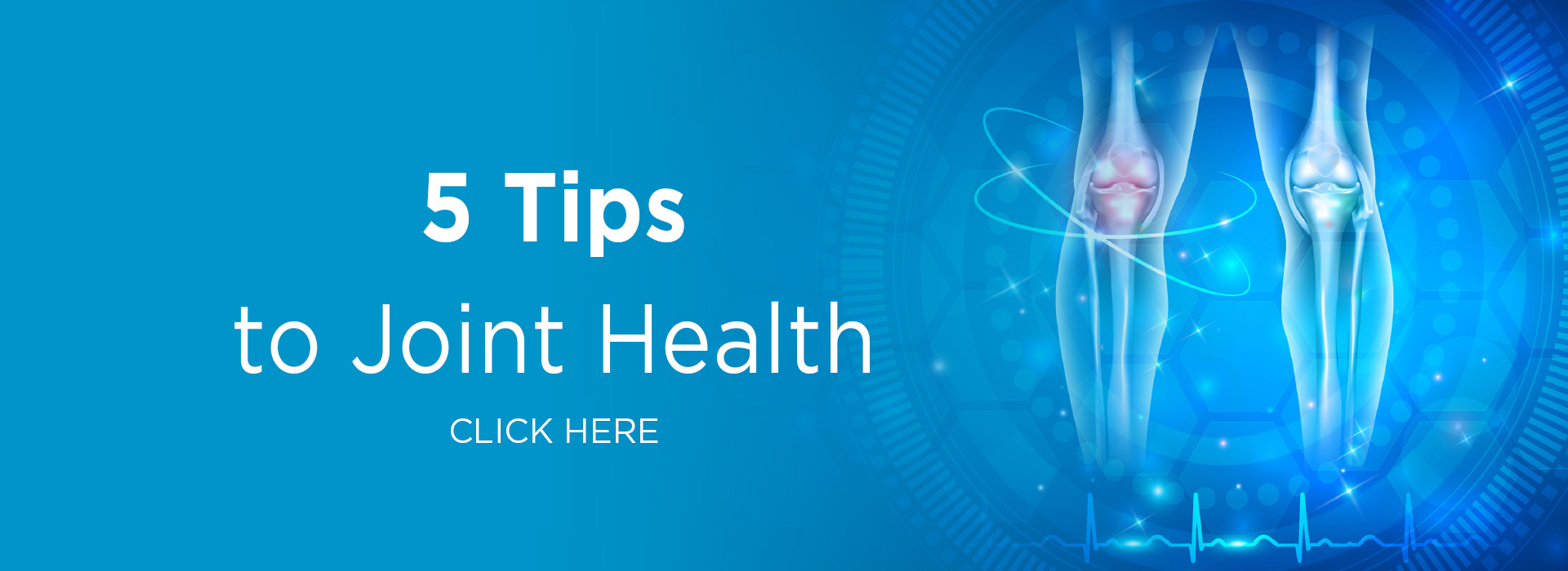 New Image International: 5 tips to Joint Health